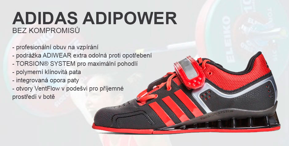 Adidas Adipower weightlifting-vzpírání