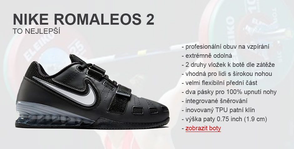 eb11eb784c4 Nike Romaleos 2 weightlifting-vzpírání ...